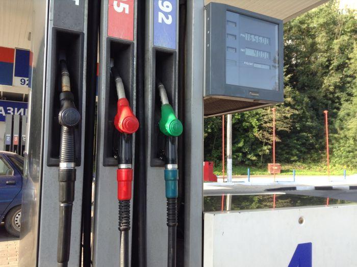 Увеличилась стоимость бензина в Смоленской области