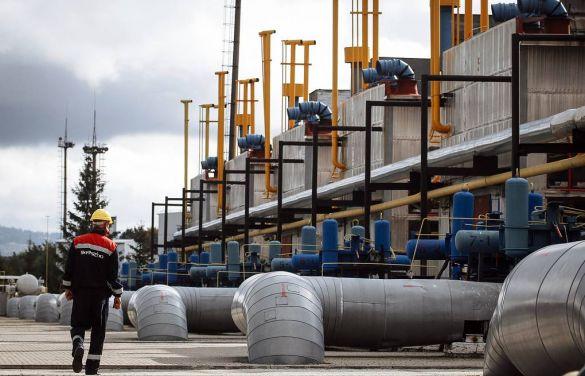 «Укртрансгаз»: хранилища газа на Украине заполнены на 35% меньше, чем в 2020 году